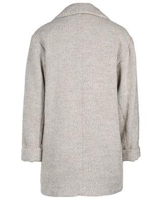 Manteau à boutonnière simple en laine mélangée Topitown AMERICAN VINTAGE