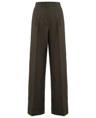 Wide-leg wool blend trousers TWINSET