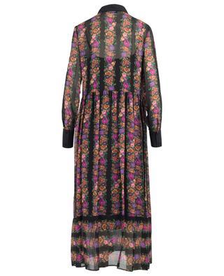 Floral embellished long dress TWINSET