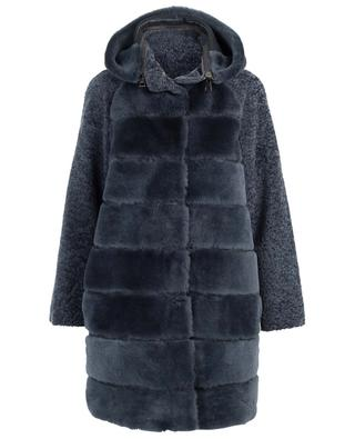 Manteau réversible en peau lainée SUPREMA