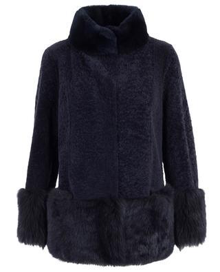 Reversible shearling jacket SUPREMA