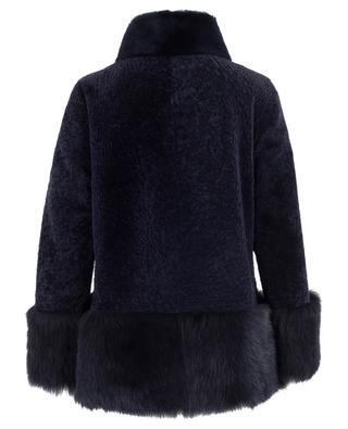 Wendbare Jacke aus Schafsfell und -leder SUPREMA