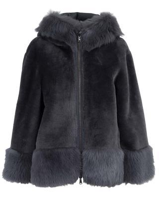 Veste réversible en peau lainée SUPREMA