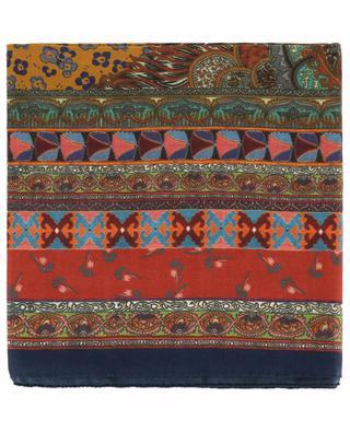 Halstuch aus Kaschmir und Seide Bombay ETRO