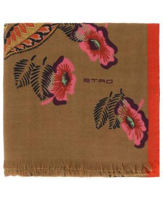 Feiner Schal aus Kaschmir und Seide ETRO