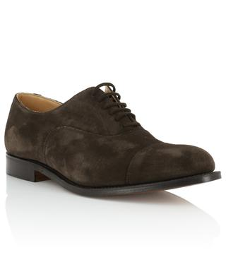 Suede derby shoes CHURCH