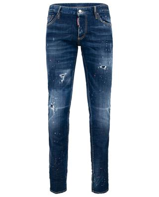 Slim-Fit Jeans im Used Look DSQUARED2