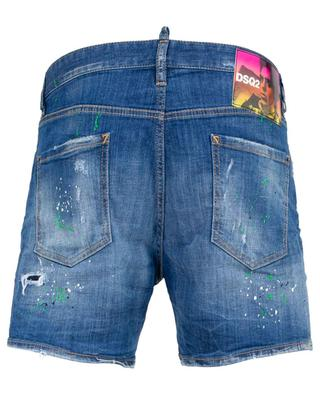 Distressed denim shorts DSQUARED2
