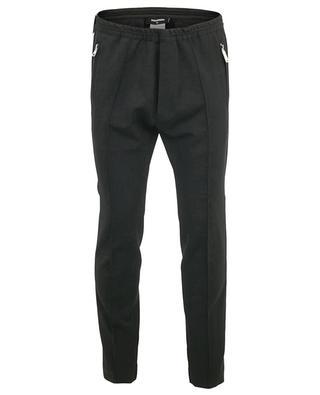 Pantalon en laine vierge mélangée Jogging Fit DSQUARED2