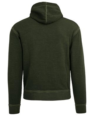 Vicious Bros printed cotton hoodie DSQUARED2