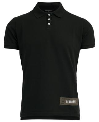 Piqué cotton polo shirt DSQUARED2