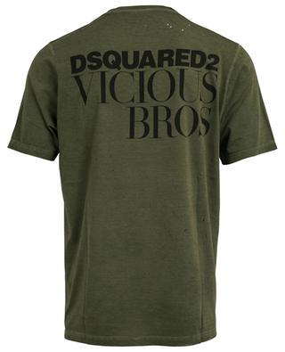 T-Shirt aus Baumwolle Vicious Bros DSQUARED2