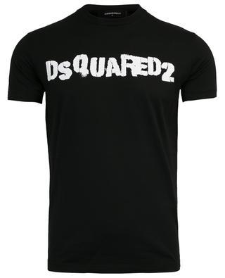 Logo print cotton T-shirt DSQUARED2