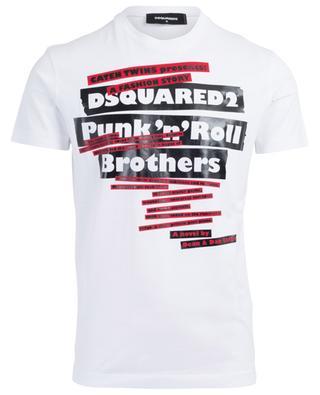 Schmal geschnittenes T-Shirt Punk'n'Roll Brothers DSQUARED2