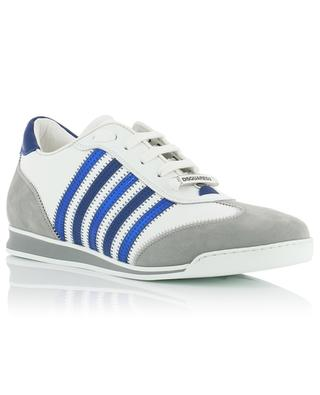New Runner stripe adorned leather sneakers DSQUARED2