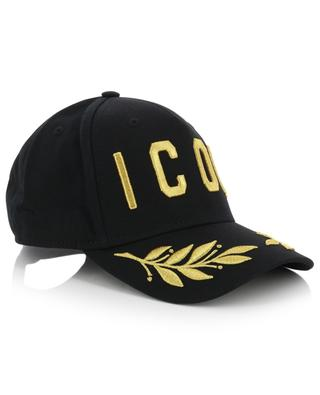 Icon embroidered baseball cap DSQUARED2