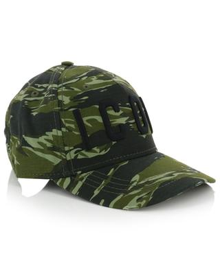 Icon camo print baseball cap DSQUARED2