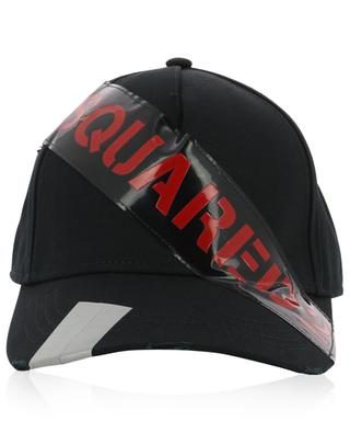 Logo Tape distressed baseball cap DSQUARED2