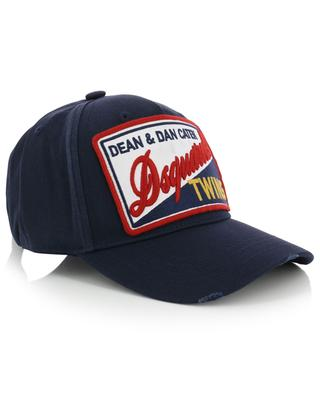 Baseball cap with front patch DSQUARED2