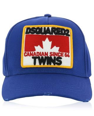 Casquette patch brodé Maple Leaf DSQUARED2