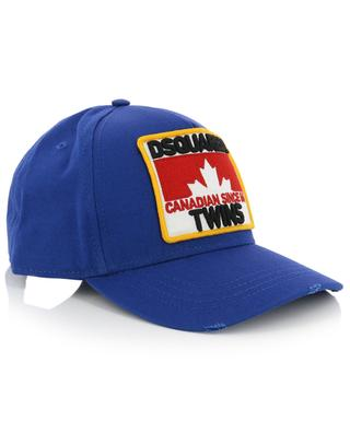 Maple Leaf baseball cap with embroidered patch DSQUARED2