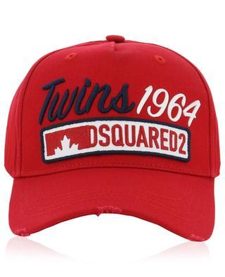 Bestickte Baseballkappe mit Aufnäher DSQUARED2