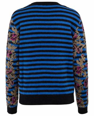Striped mohair blend jumper RED VALENTINO