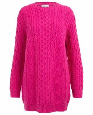 Pull oversize en laine vierge Love You RED VALENTINO