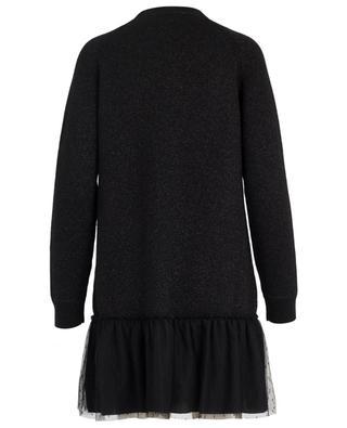 Robe pull courte en laine vierge RED VALENTINO
