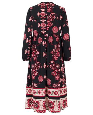 Printed crepe midi dress RED VALENTINO
