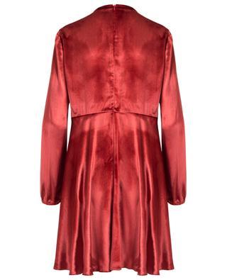 Robe courte en velours RED VALENTINO