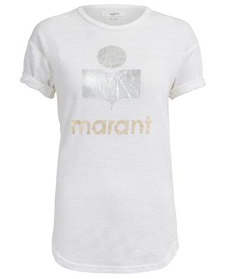 T-Shirt aus Leinen Koldi ISABEL MARANT