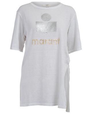 T-Shirt aus Leinen Kuta ISABEL MARANT
