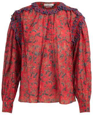 Eva printed cotton blouse ISABEL MARANT