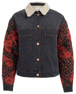 Chrissa padded jeans jacket ISABEL MARANT