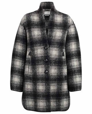 Manteau à carreaux Gabrie ISABEL MARANT