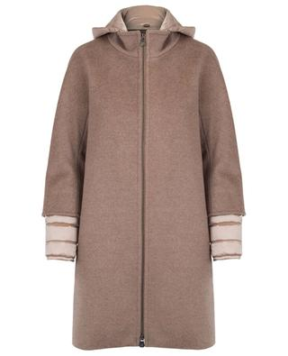 Padded virgin wool coat CINZIA ROCCA
