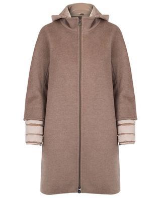 Padded virgin wool coat CINZIA ROCCA