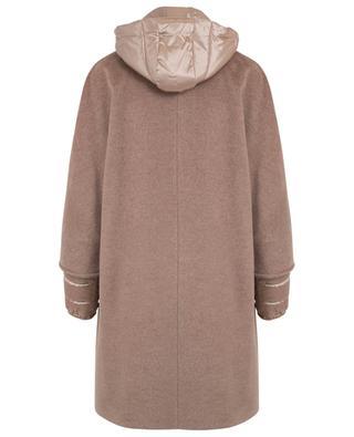 Gefütterter Mantel aus Schurwolle CINZIA ROCCA