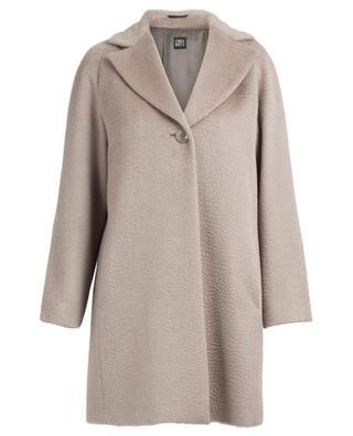 Alpaca and virgin wool coat CINZIA ROCCA