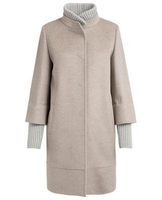Mantel aus Schurwolle CINZIA ROCCA