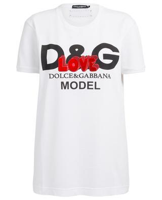 T-shirt en coton DOLCE & GABBANA