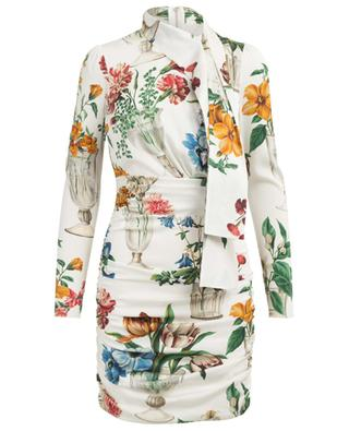 Short printed silk dress DOLCE & GABBANA