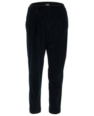 Cotton corduroy trousers LORENA ANTONIAZZI
