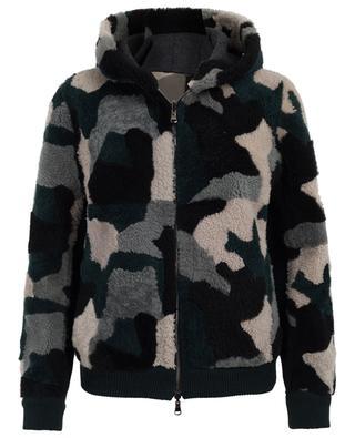 Reversible sheep shearling jacket LORENA ANTONIAZZI