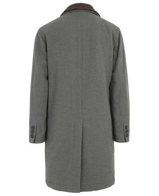 Gefütterter Mantel aus Wolle und Kaschmir BRUNELLO CUCINELLI