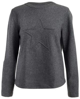 Virgin wool and cashmere blend sweatshirt LORENA ANTONIAZZI