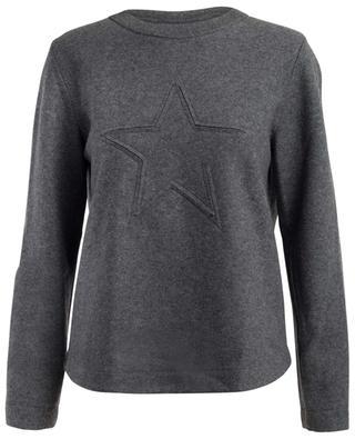 Sweat-shirt en laine vierge et cachemire mélangés LORENA ANTONIAZZI