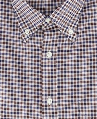 Chemise à carreaux en coton BRUNELLO CUCINELLI