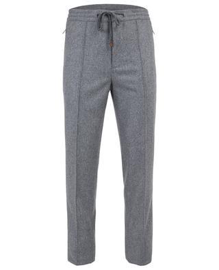 Pantalon droit en laine BRUNELLO CUCINELLI